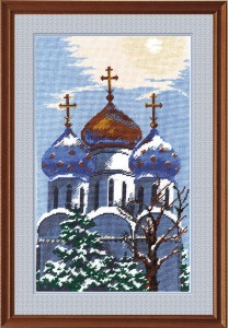 Laura - Counted Cross Stitch Kit with Color Symbolic Scheme