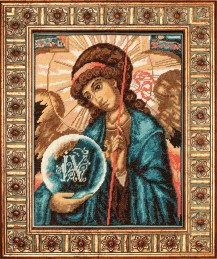 The Archangel Gabriel - Counted Cross Stitch Kit with Color Symbolic Scheme