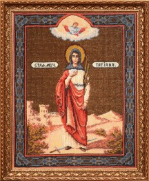 Saint Tatiana - Counted Cross Stitch Kit with Color Symbolic Scheme