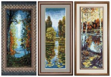 Landscapes By Konstantin Vasiliev - Cross stitch bandle