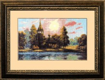 Symphony Of Silence - Counted Cross Stitch Kit with Color Symbolic Scheme