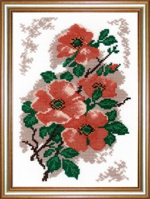Briar - Counted Cross Stitch Kit with Color Symbolic Scheme