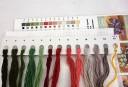 Azaleas - Counted Cross Stitch Kit with Color Symbolic Scheme
