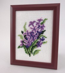 Hyacinth - Counted Cross Stitch Kit with Color Symbolic Scheme