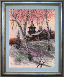 North Morning - Counted Cross Stitch Kit with Color Symbolic Scheme