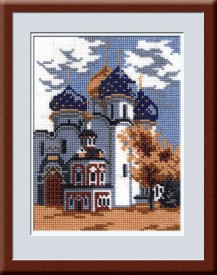 Laurel - Counted Cross Stitch Kit with Color Symbolic Scheme