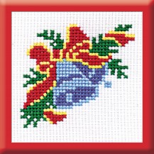 Blue Bell - Counted Cross Stitch Kit with Color Symbolic Scheme