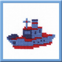 Nautilus - Counted Cross Stitch Kit with Color Symbolic Scheme