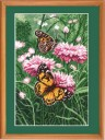 Butterflies - Counted Cross Stitch Kit with Color Symbolic Scheme