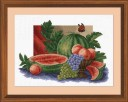 Still Life - Counted Cross Stitch Kit with Color Symbolic Scheme