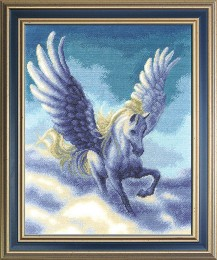 Pegasus  - Counted Cross Stitch Kit with Color Symbolic Scheme