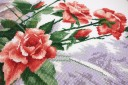 Watercolor Roses - Counted Cross Stitch Kit with Color Symbolic Scheme