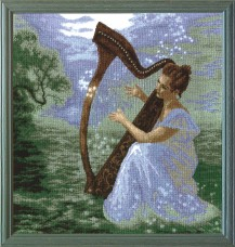 Magic Melody - Counted Cross Stitch Kit with Color Symbolic Scheme
