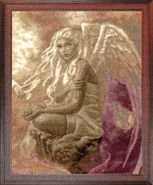 Angel Of Love - Counted Cross Stitch Kit with Color Symbolic Scheme