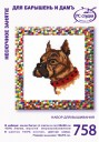 Boxer - Counted Cross Stitch Kit with Color Symbolic Scheme